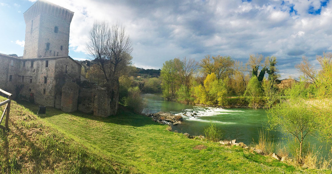 Visitare l'Umbria - Cascate e fiumi