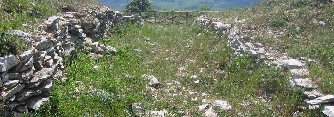 camminata vicino Perugia
