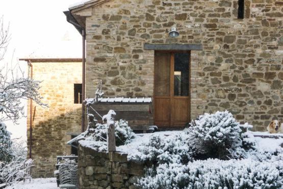 Paesaggio inverno Umbria