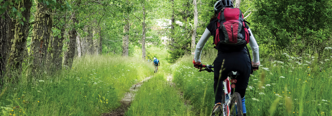Mountain bike Monte Tezio Umbria