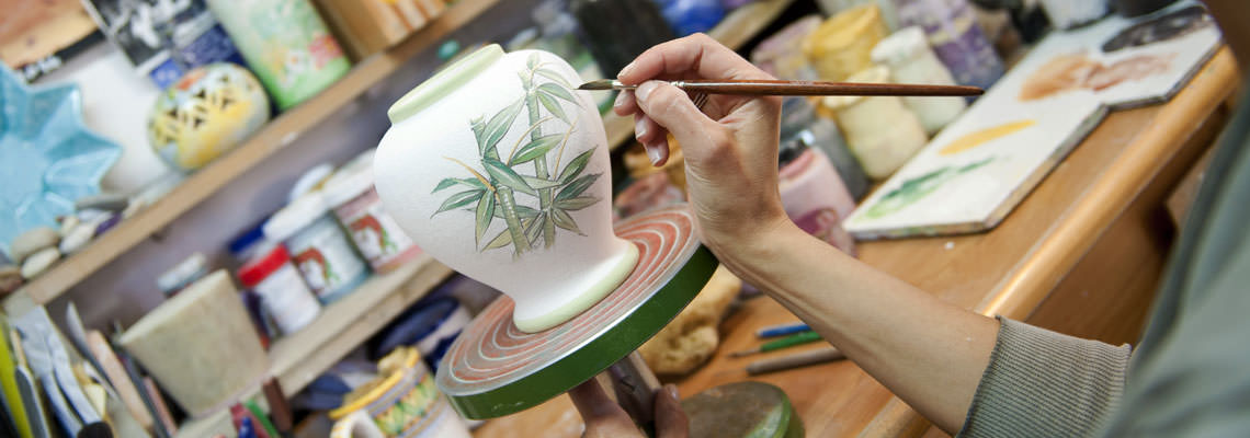 Corso pittura su ceramica Perugia