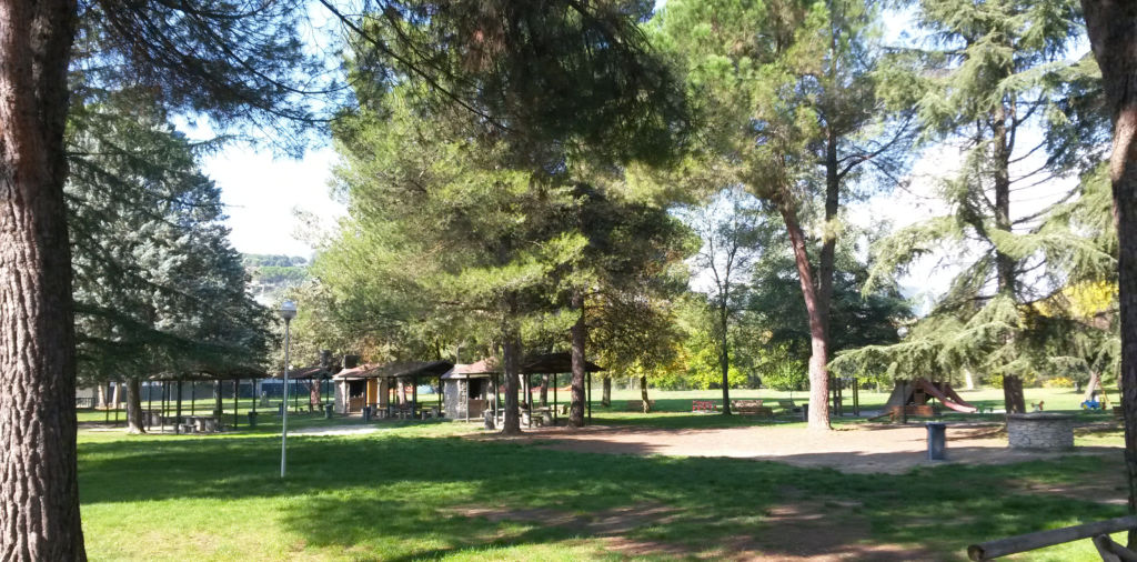 Ponte Valleceppi parco Perugia