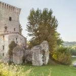 Pretola, dall'altra parte del fiume Tevere | Perugia