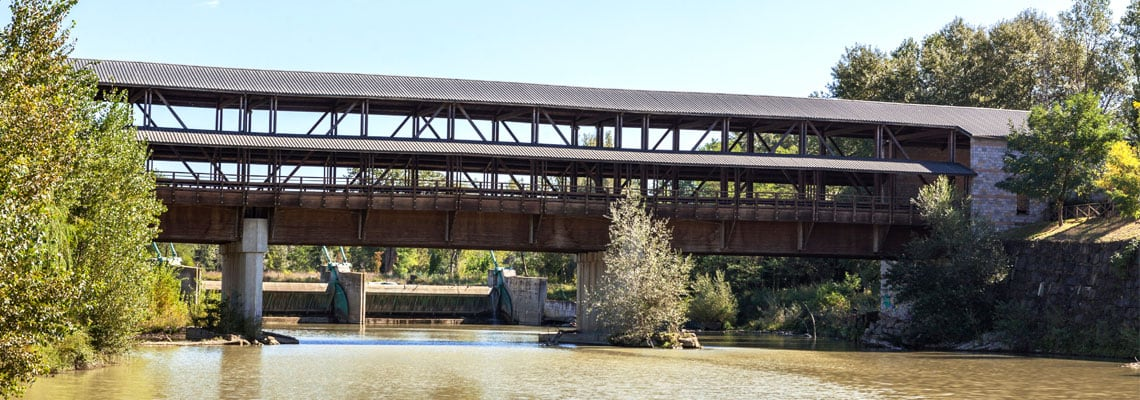 Ponte San Giovanni il ponte sul Tevere