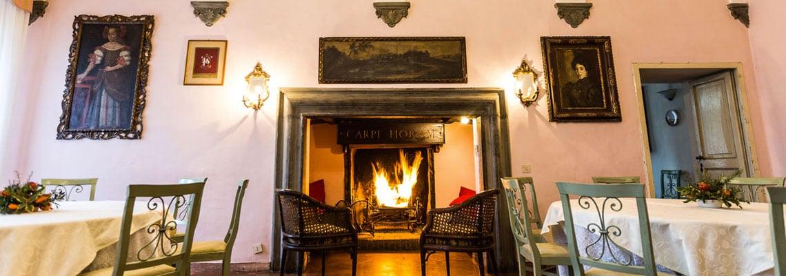 Villa Taticchi salone