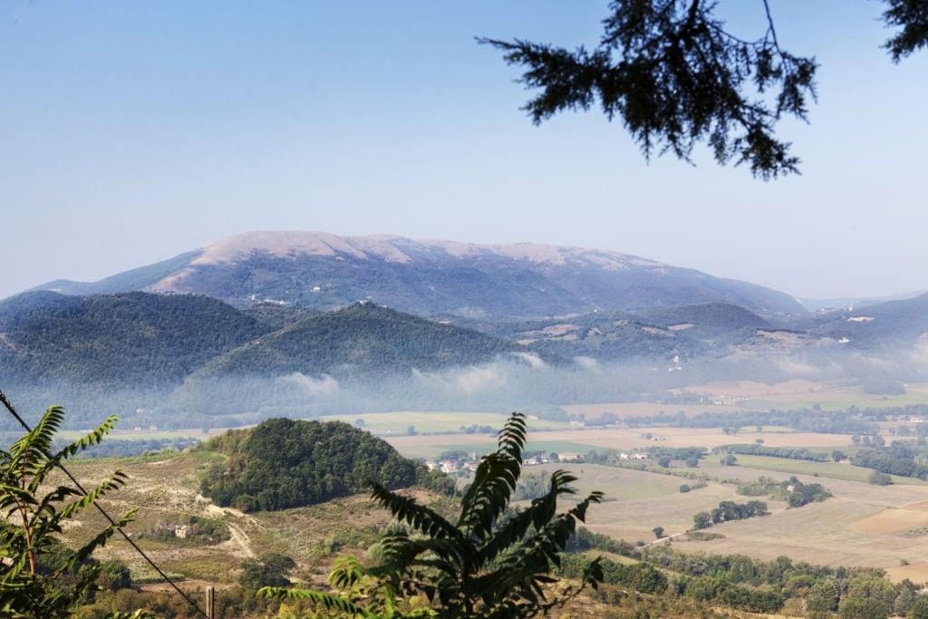 Panorama da Civitella Benazzone Perugia