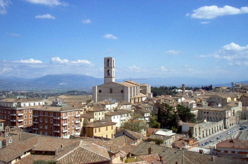 Panorama dai Giardini Carducci Perugia
