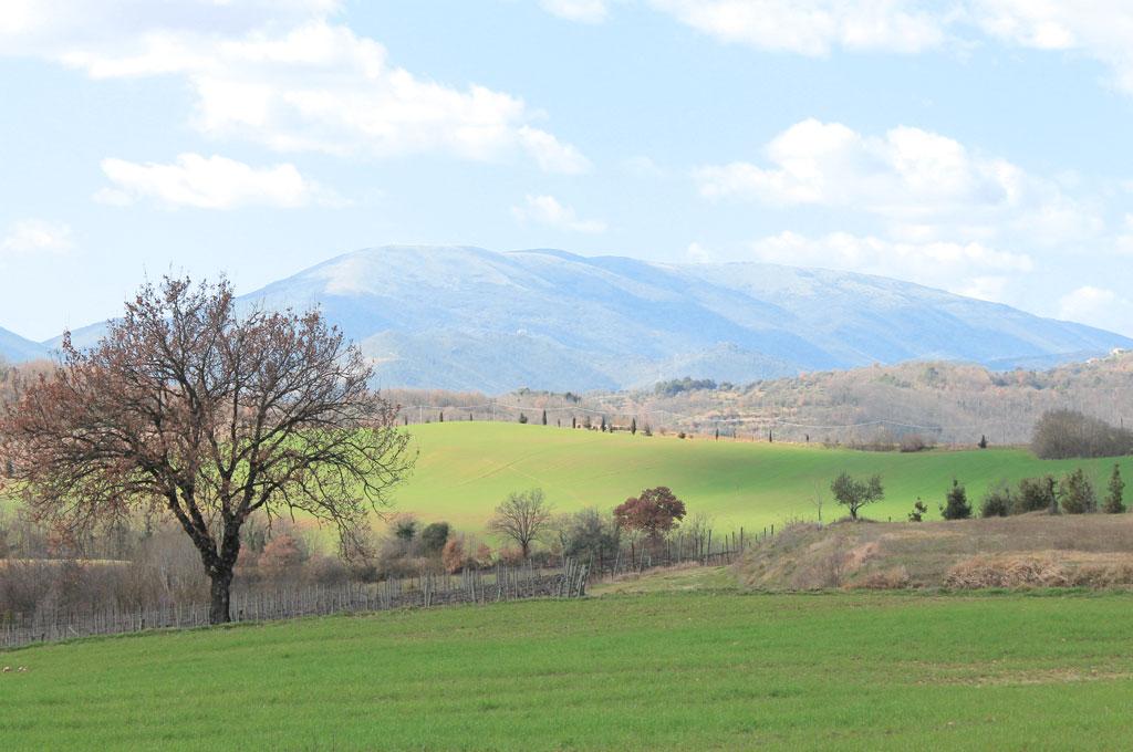 Panorama da Montelabate perugia