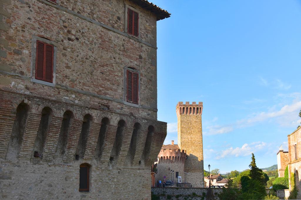 Veduta della Rocca di Umbertide