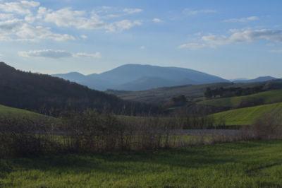 Veduta da Montelabate Perugia