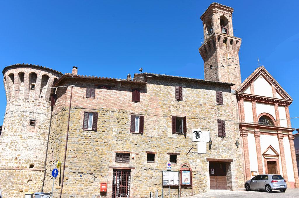 Castello e chiesa di Sant'Egidio Perugia