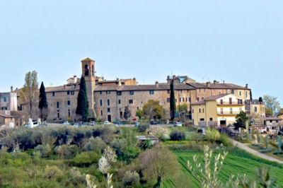 Veduta del borgo di Ripa Perugia