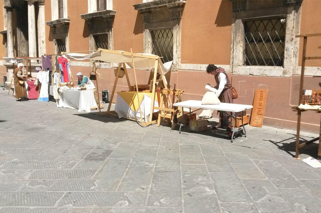 Mercato dei mestieri medievali Perugia 1416