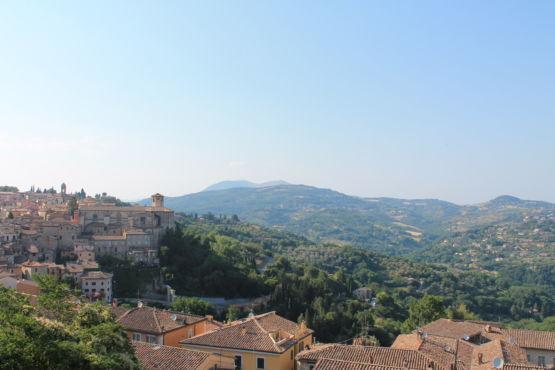 Panorama da Porta Sole Perugia