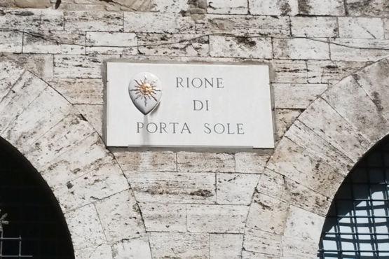 Targa Rione Porta Sole Perugia