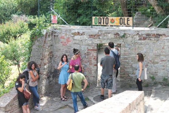 Ingresso Orto Sole Perugia
