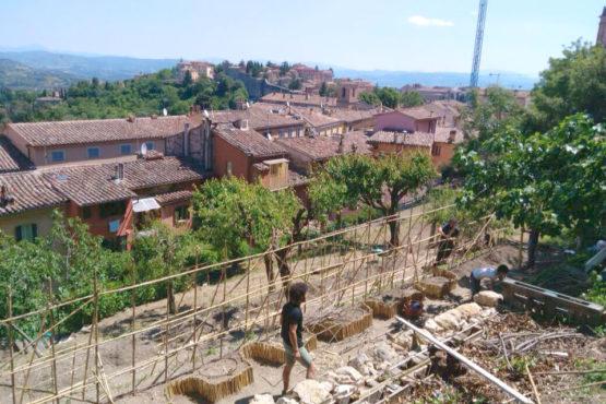 Orto Sole allestimento Perugia