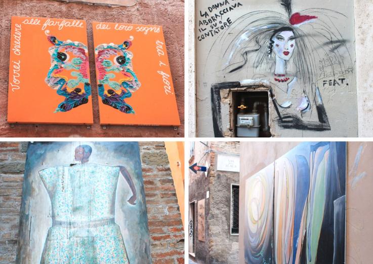 Arte in Via della Viola Perugia