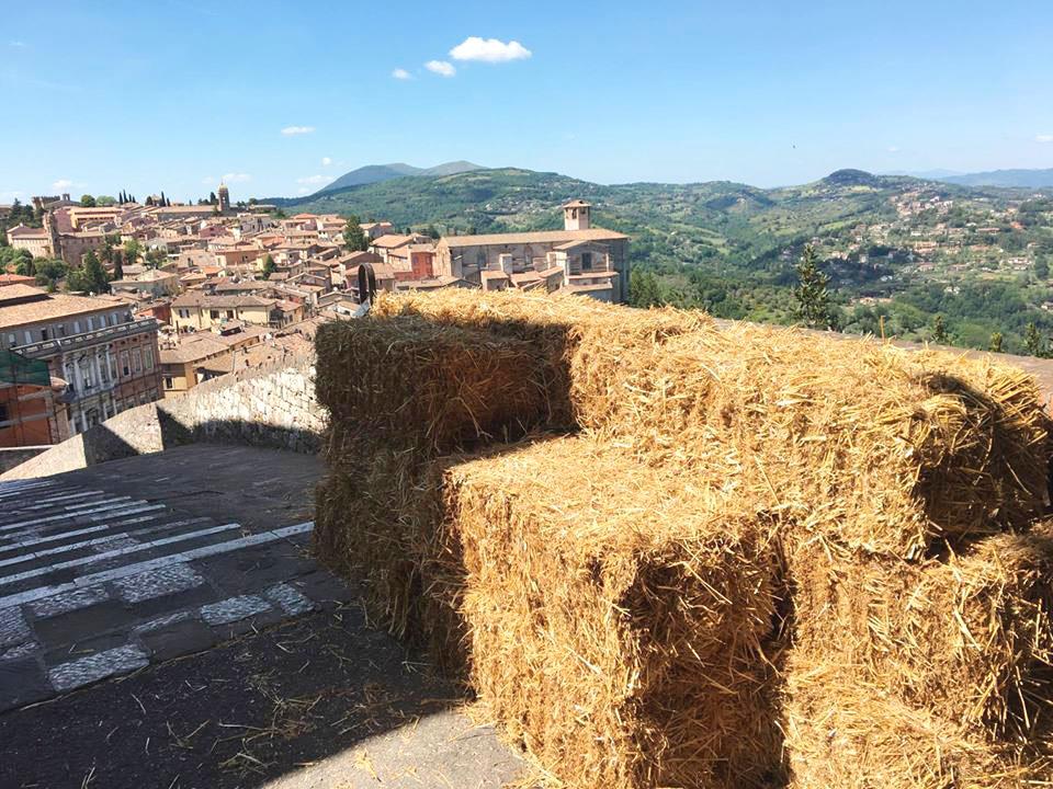 Vista da Via delle Prome Perugia