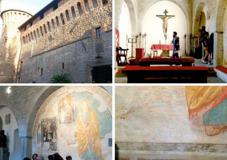 Chiesa del castello di Magione