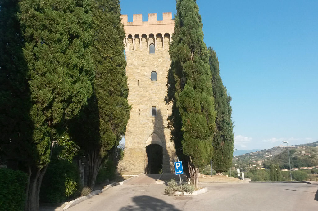Torre Baglioni a Torgiano