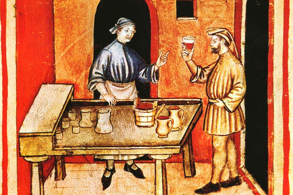 Il vino nel medioevo - i templari