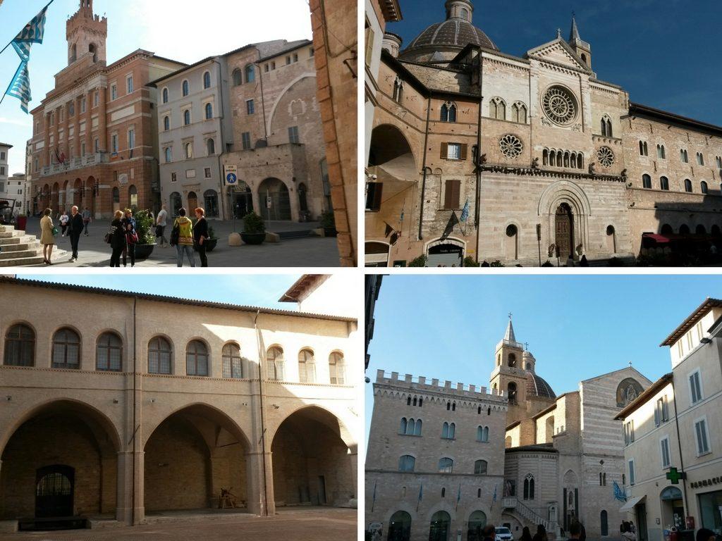 Scorci del centro storico di Foligno