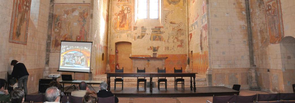 ConTemplari - Interno chiesa San Bevignate Perugia