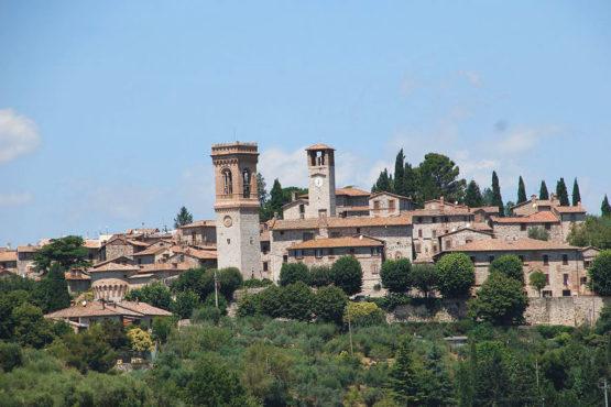 Il borgo di Corciano