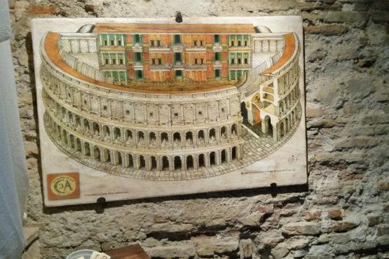 Ricostruzione del Teatro Romano di Bevagna