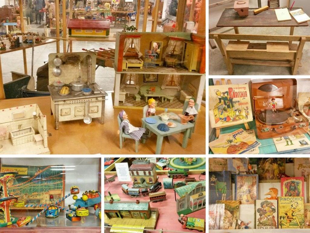 Alcuni giochi del museo del giocattolo