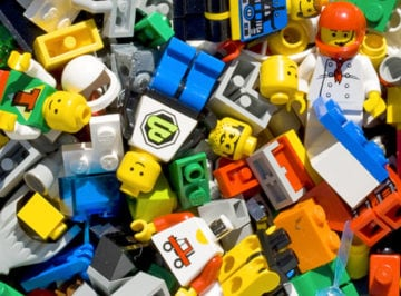 mostra lego a Gubbio