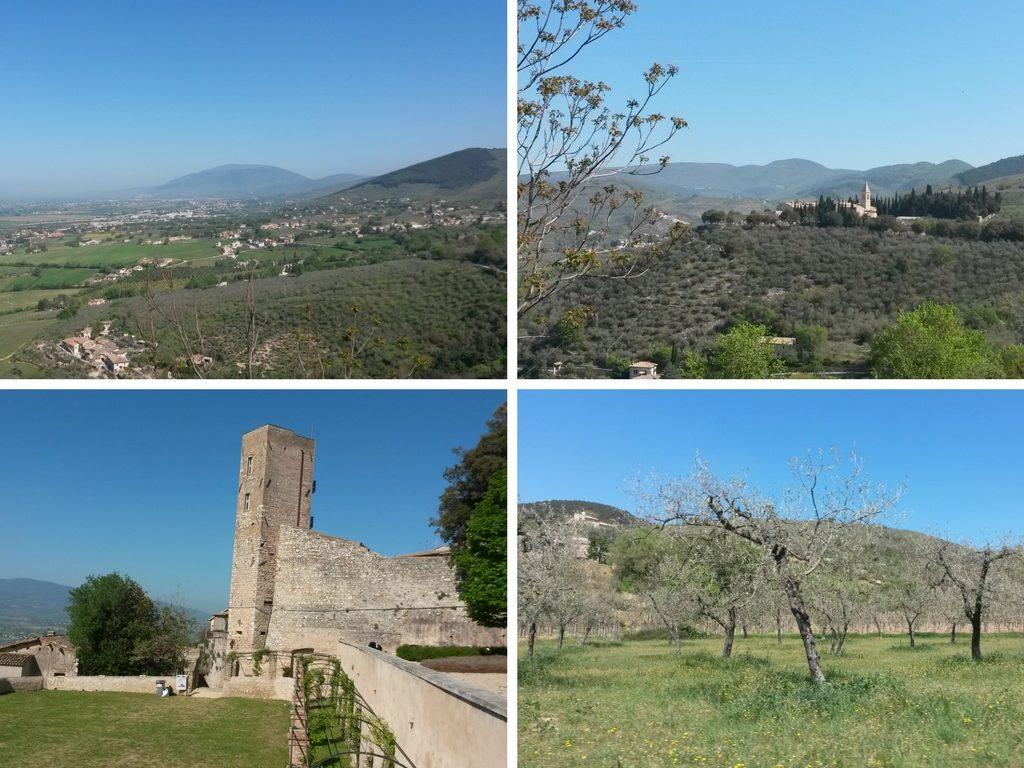 Panorami da Trevi - Perugia