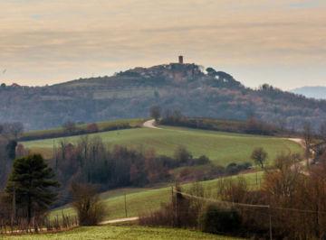 Civitella Benazzone panorama perugia