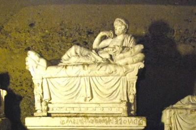 Tomba etrusca Ipogeo dei Volumni