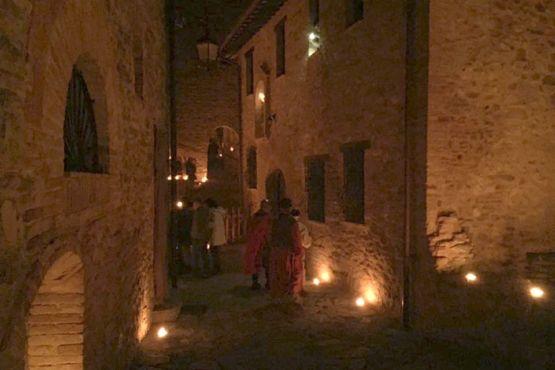 Presepe vivente nel Castello di San Gregorio
