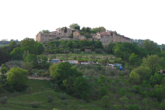 Veduta di Casteldarno Perugia