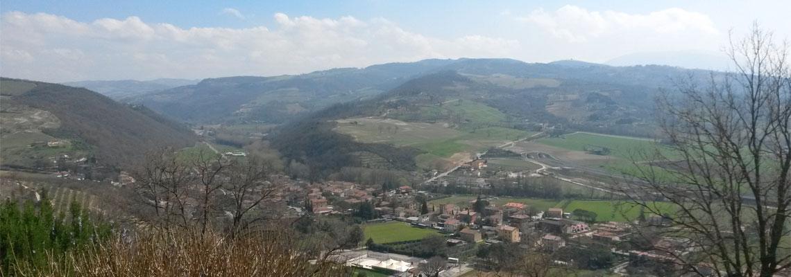 Veduta di Pianello Perugia
