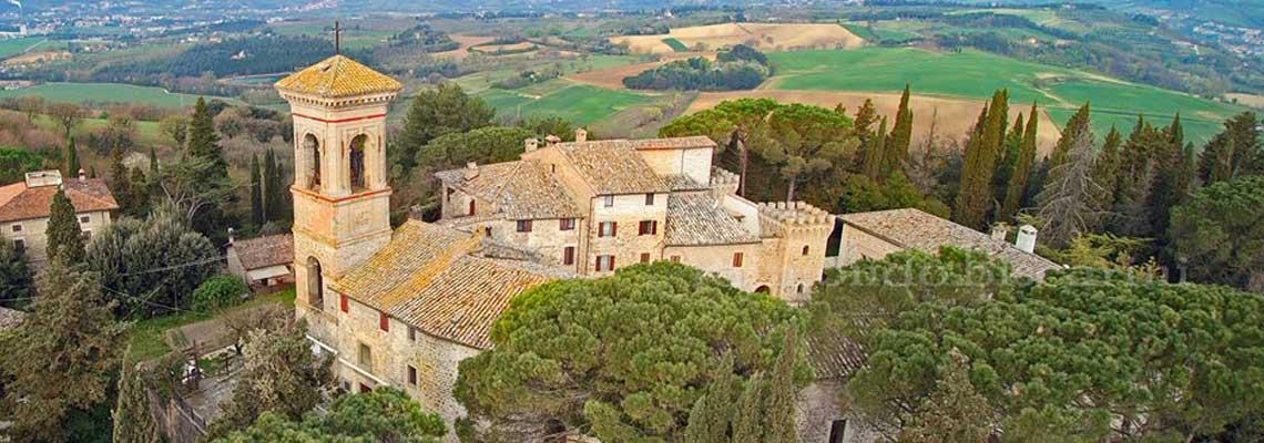 Veduta di Civitella d'Arna Perugia