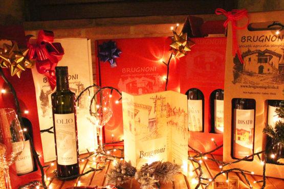 Confezioni natalizie vino Brugnoni