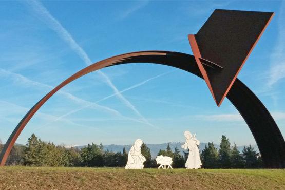 Presepe-Parco delle sculture di Brufa
