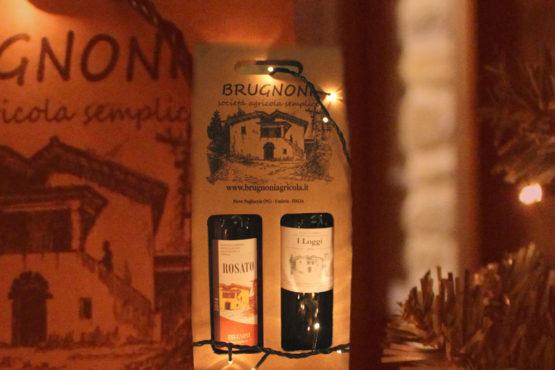 Confezione vino rosato e I Loggi Brugnoni