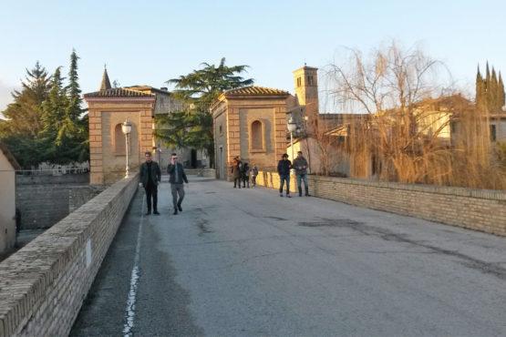 Porta di accesso alla città di Bevagna