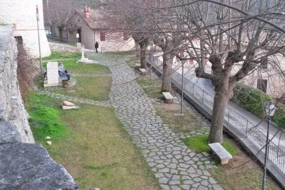 giardino di Porta S. Maria Assunta-corciano